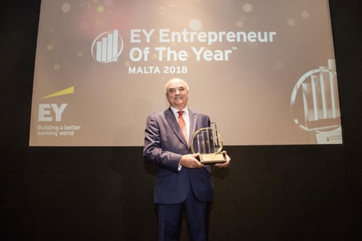 AX Hotels - Mr.Angelo Xuereb - EY Awards