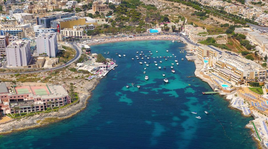 St George's Bay - Malta Beaches