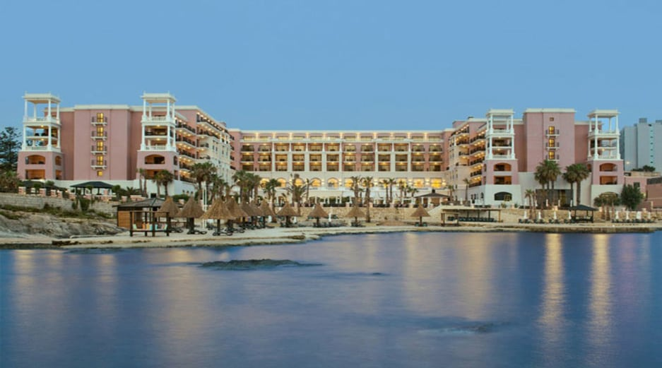 One of the best beaches in Malta - The Westin Dragonara Resort