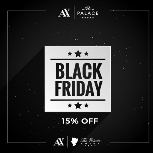 AX The Palace - Black Friday