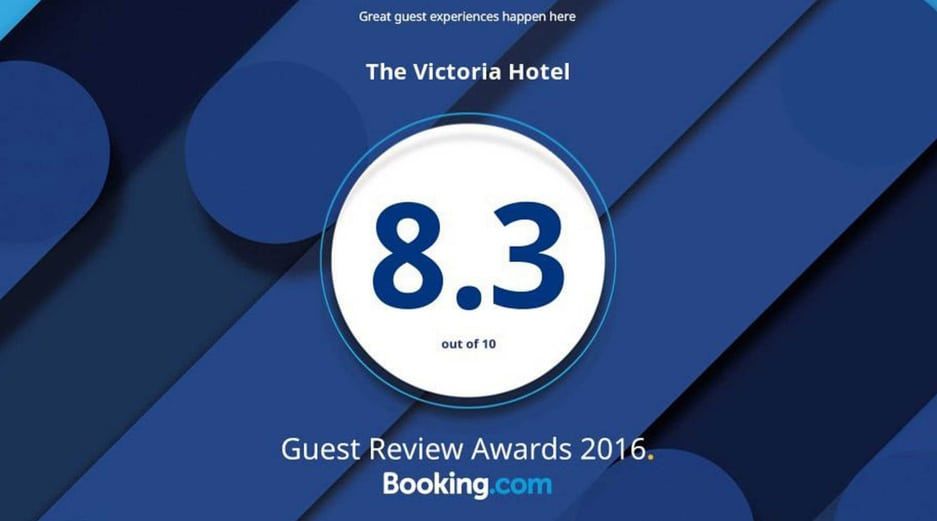 AX The Victoria Hotel - Guest Review Awards 2016