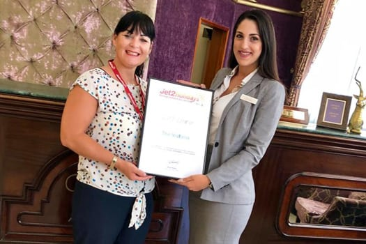 AX The Victoria Hotel - Jet2Holidays Quality Award