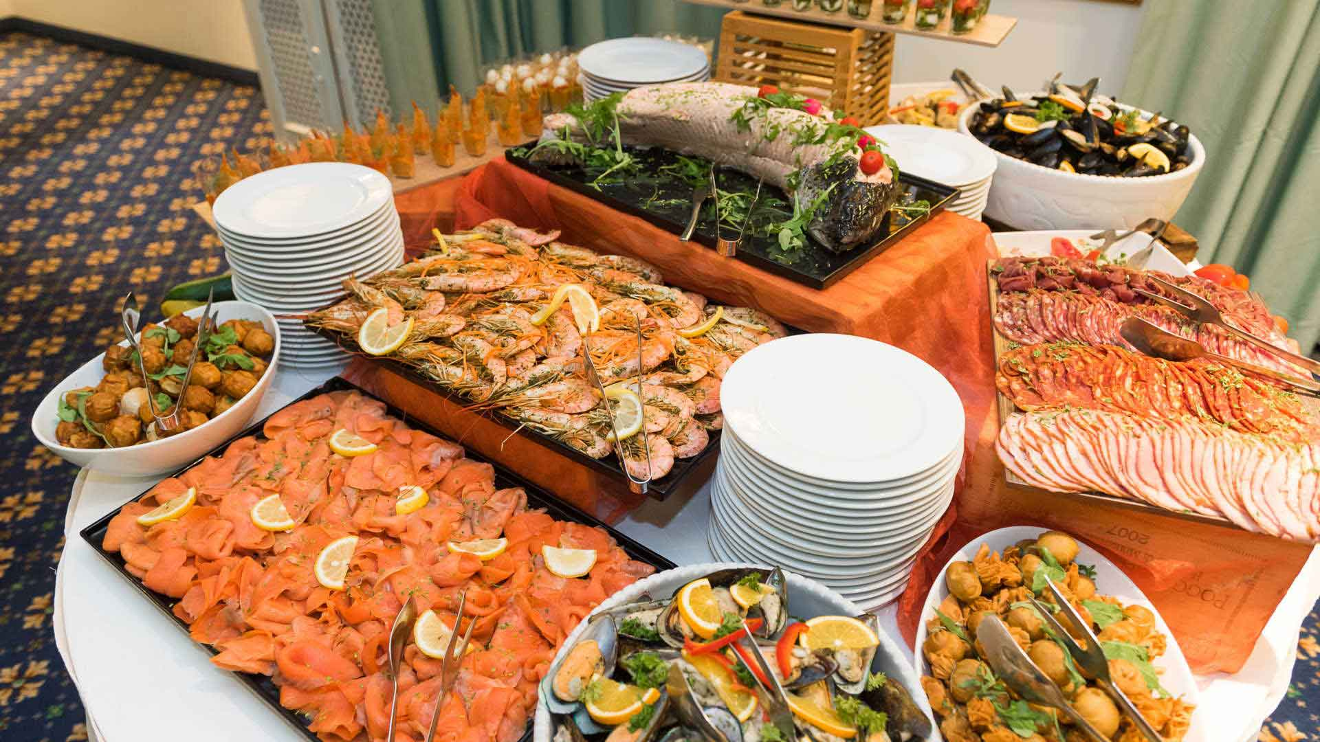 AX The Victoria Hotel - Buffet Copperfields