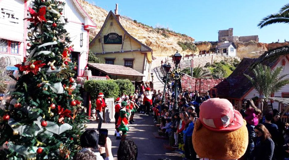 Christmas at Popeye's Village