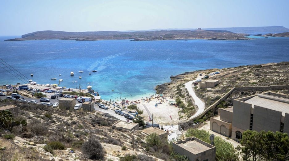 Best Beaches in Gozo - Hondoq ir-Rummien