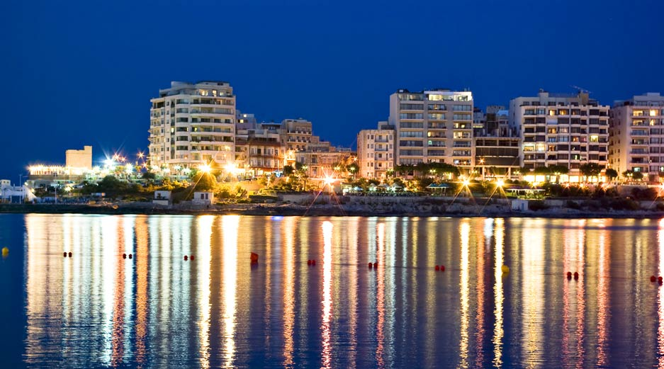 Sliema by Night