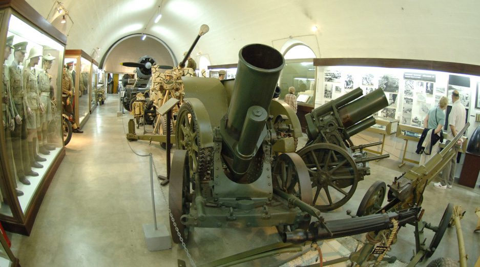 What to do in Valletta - War Museum